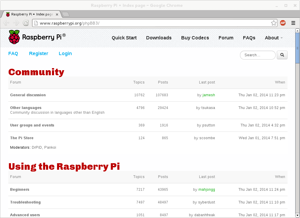 0002051: Why the raspberry pi forum looks ugly? - MantisBT